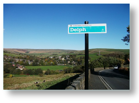 View to Delph - Saddleworth Villages