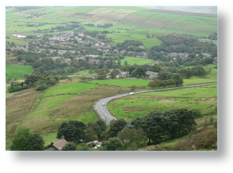 View to Delph 2 - Saddleworth Villages